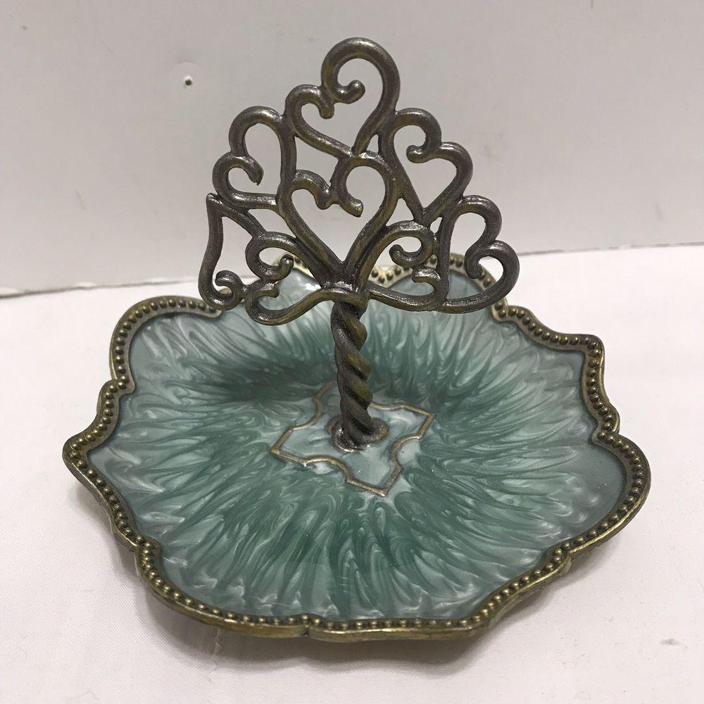 NEW CYNTHIA ROWLEY New York Jewelry Ring Holder Enamel