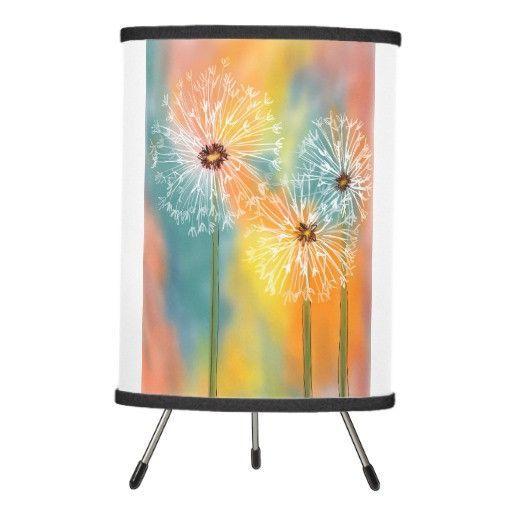 Lamp, Dandelions Design