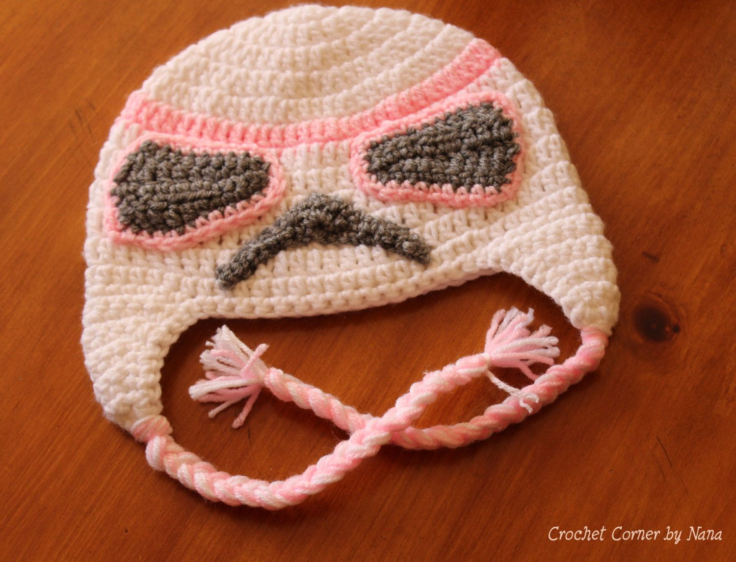 Star Wars Pink Stormtrooper Crochet Hat by CrochetCornerbyNana on ...