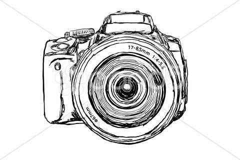 Logo Camara Fotografica Vector Buscar Con Google Tatuaje De Camara Lentes Dibujo Camaras Digitales