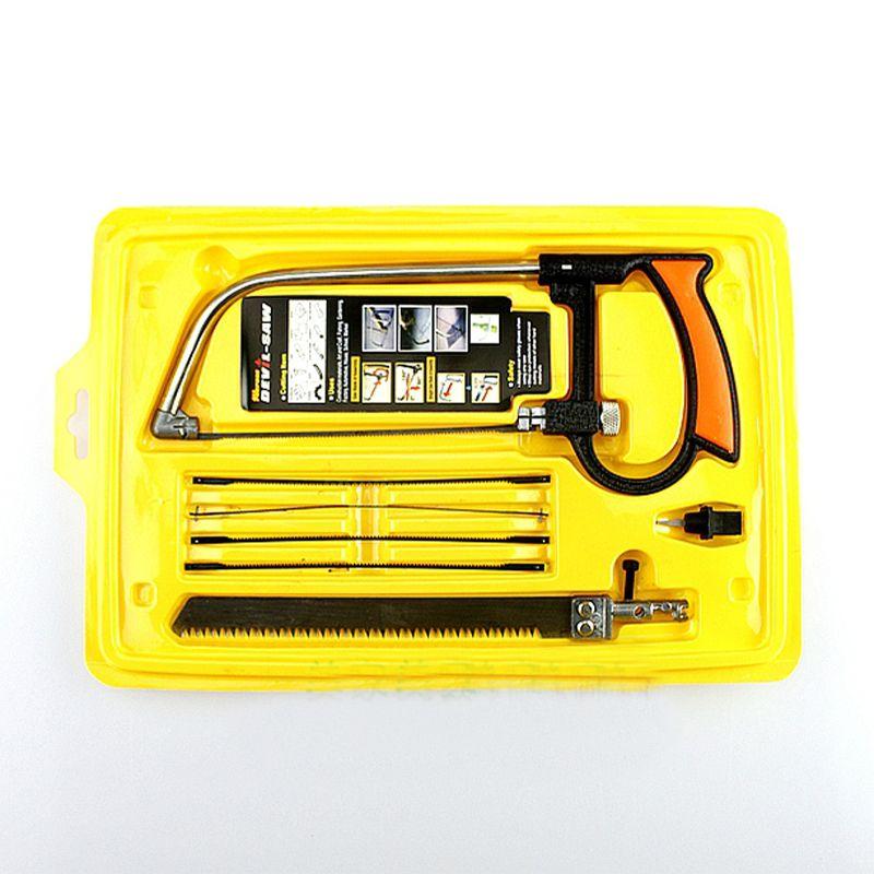 245 미리메터 * 100 미리메터 다기능 가정용 쇠톱 수동 하드웨어 도구 세트 목공 보았다 절단 나무/알루미늄/유리