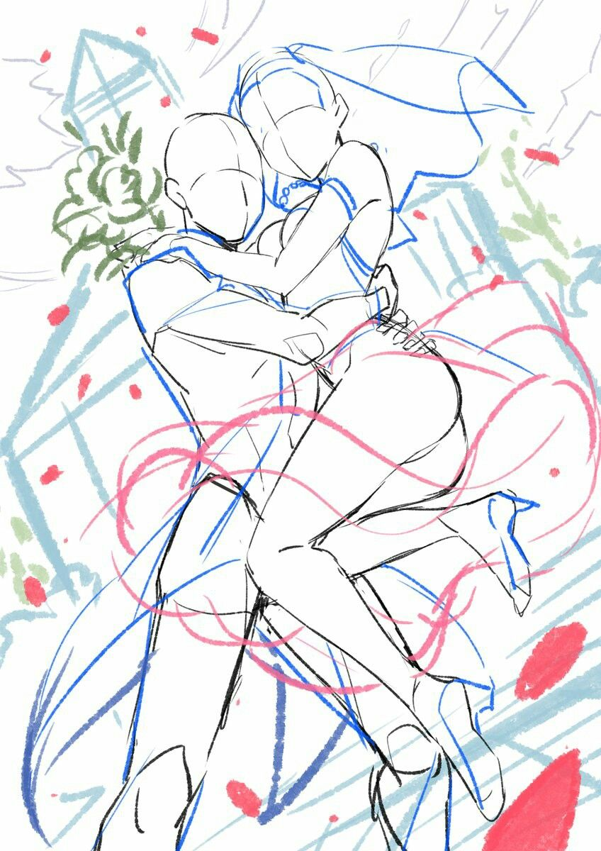 Guy holding girl up like in wedding drawing tools inspiration creativity reference sheet guide poses hochzeit base couple clothes