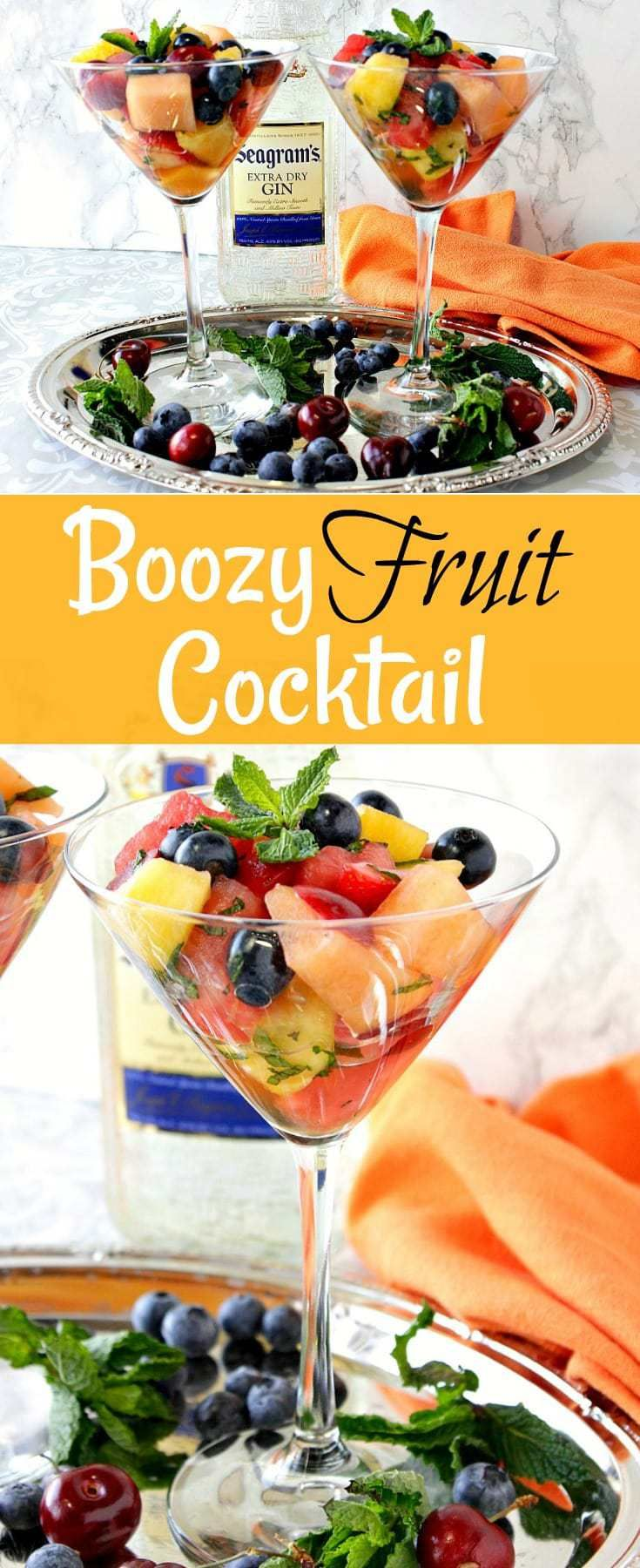 Cool refreshing and a little kicked up this boozy fruit