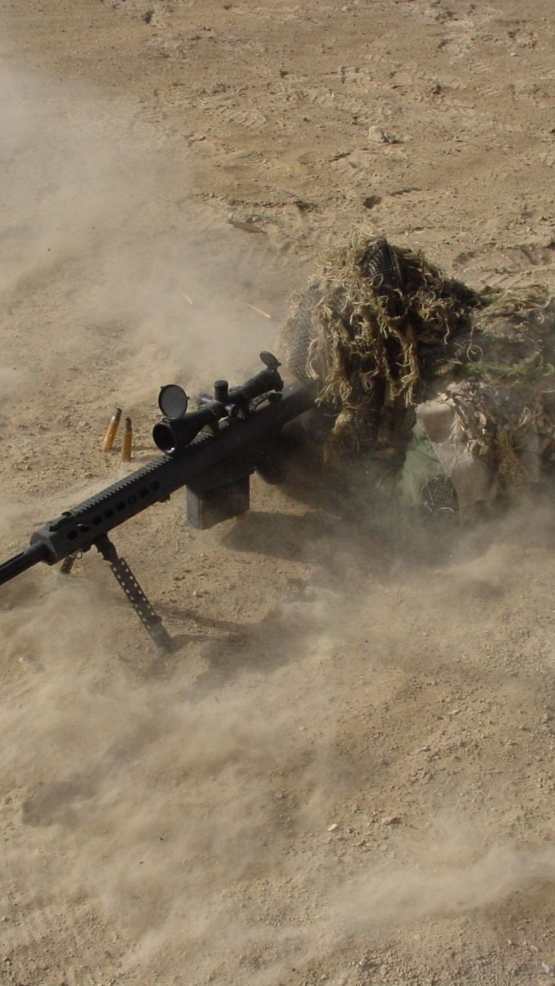 Military Sniper Weapons Sniper Rifle Weapon Soldier Mobile Wallpaper