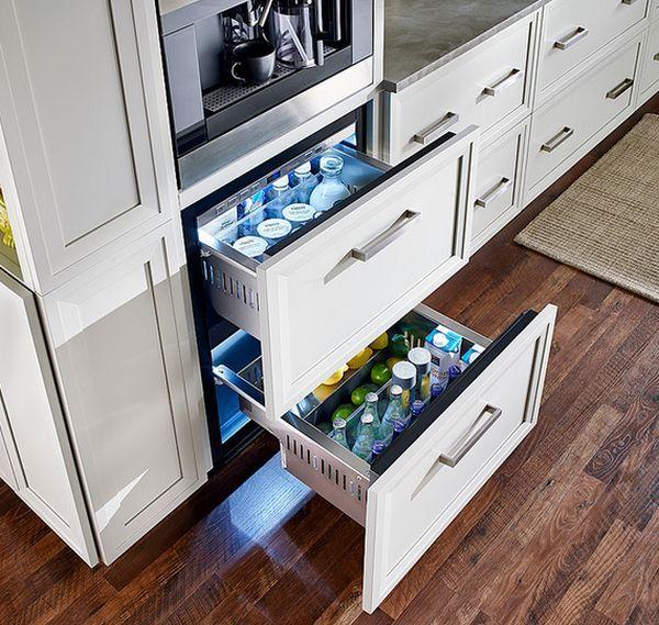 Undercounter Refrigerators The New Must Have In Modern Kitchens Kitchen Remodel Kitchen Modern Kitchen