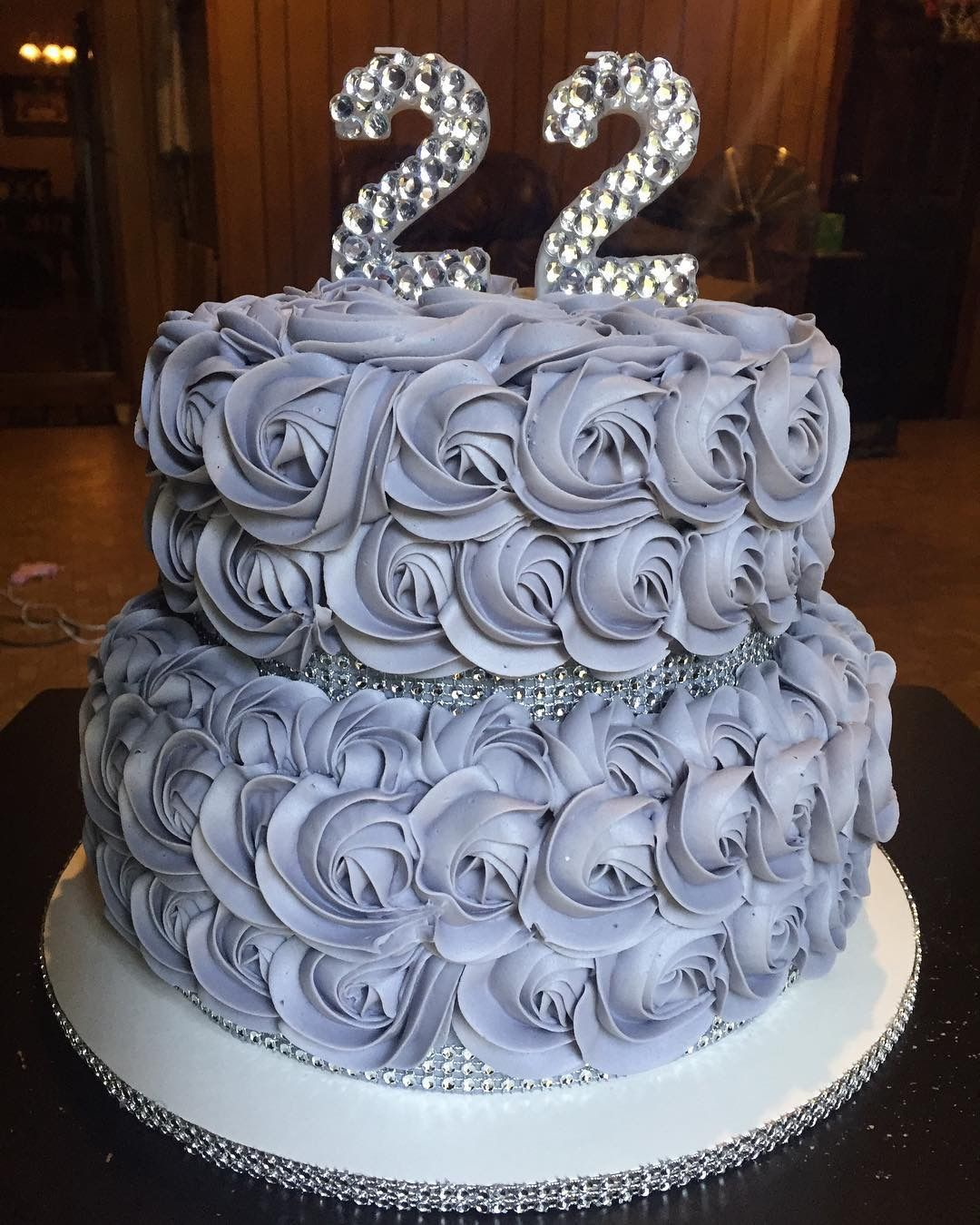 22nd Birthday Bling Cake My Cakes In 2019