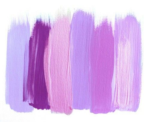 Paint Swatches Purple Creative Art