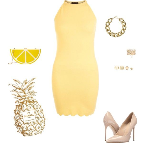 A fashion look from June 2016 featuring New Look dresses, Massimo Matteo pumps and Jessica McClintock clutches. Browse and shop related looks.