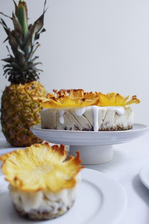 "Piña Colada ""Ice Cream"" Cake — The Naked Fig"