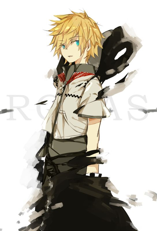 Roxas - Kingdom Hearts | Kingdom hearts | Pinterest | Videojuegos ...