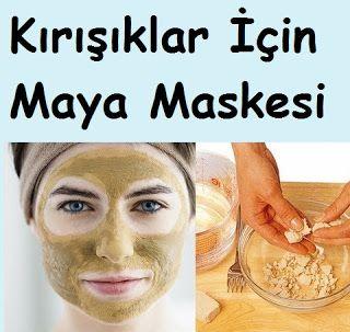Kırışıklar İçin Maya Maskesi #ciltbakımı