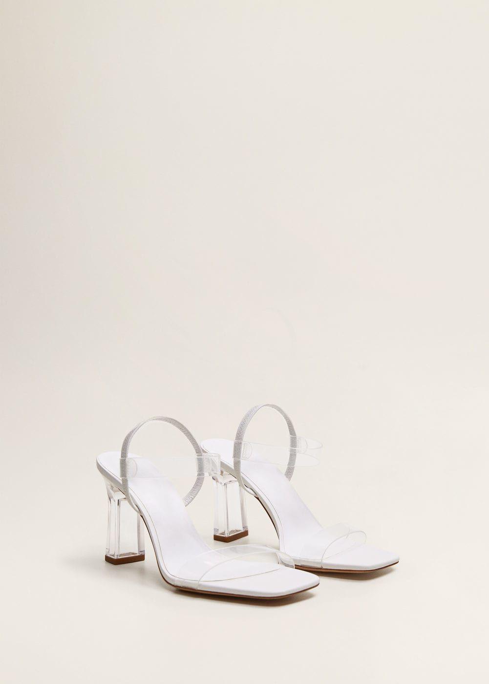 wholesale dealer 94e07 80e8e Sandale mit vinyl-riemen - Damen | Shoes! in 2019 | Schuhe ...
