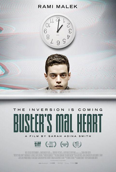 """BUSTER'S MAL HEART  Un dramma psicologico che sembra un thriller surreale, con un ottimo protagonista a incarnare tutti i dubbi e le perplessità degli young adult 2.0. Ottimo il montaggio, belle le location e azzeccate parecchie scene; ma è proprio la presenza di Malek la fonte delle uniche incertezze, perché ricalca fedelmente le tematiche e le dinamiche di """"Mr. Robot"""", quindi i tanti che l'hanno già vista proveranno un forte senso di déjà vu.  RSVP: """"Fight Club"""", """"Mr. Robot"""".  Voto: 7+."""