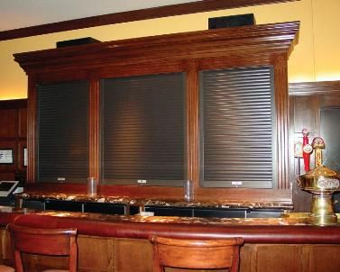 Aluminum roll up doors for above counter cabinets | Kitchen ...