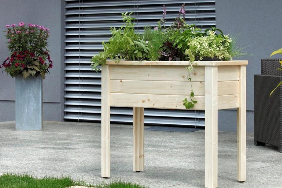 Hochbeete Fur Balkon Terrasse Den Garten Hochbeet Hochbeet Selber Bauen Garten Hochbeet
