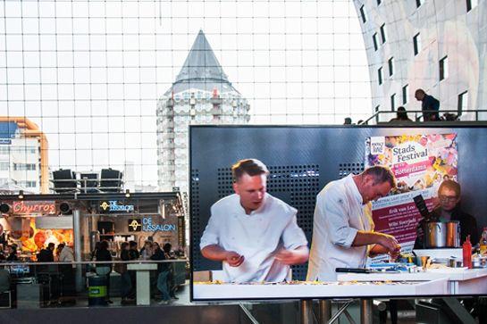 Op 27, 28 en 29 mei vindt de tweede editie van Stadsfestival Op z'n Rotterdams plaats in de het centrum van Rotterdam. Zeven Rotterdamse hotspots worden door