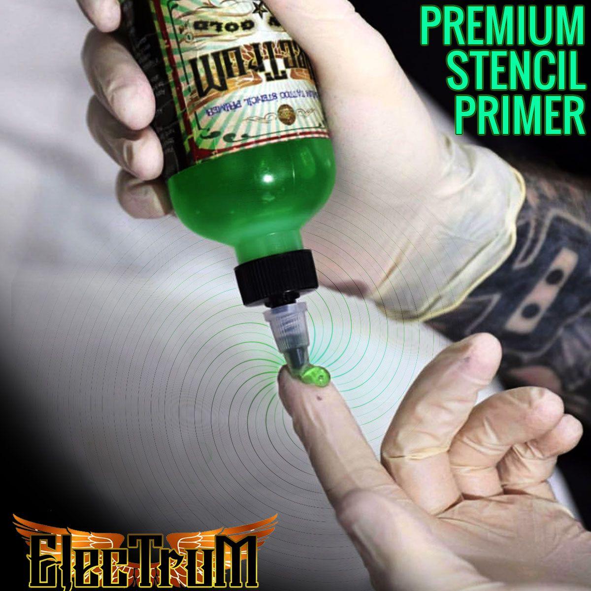 Electrum Tattoo Stencil Primer 8 Oz