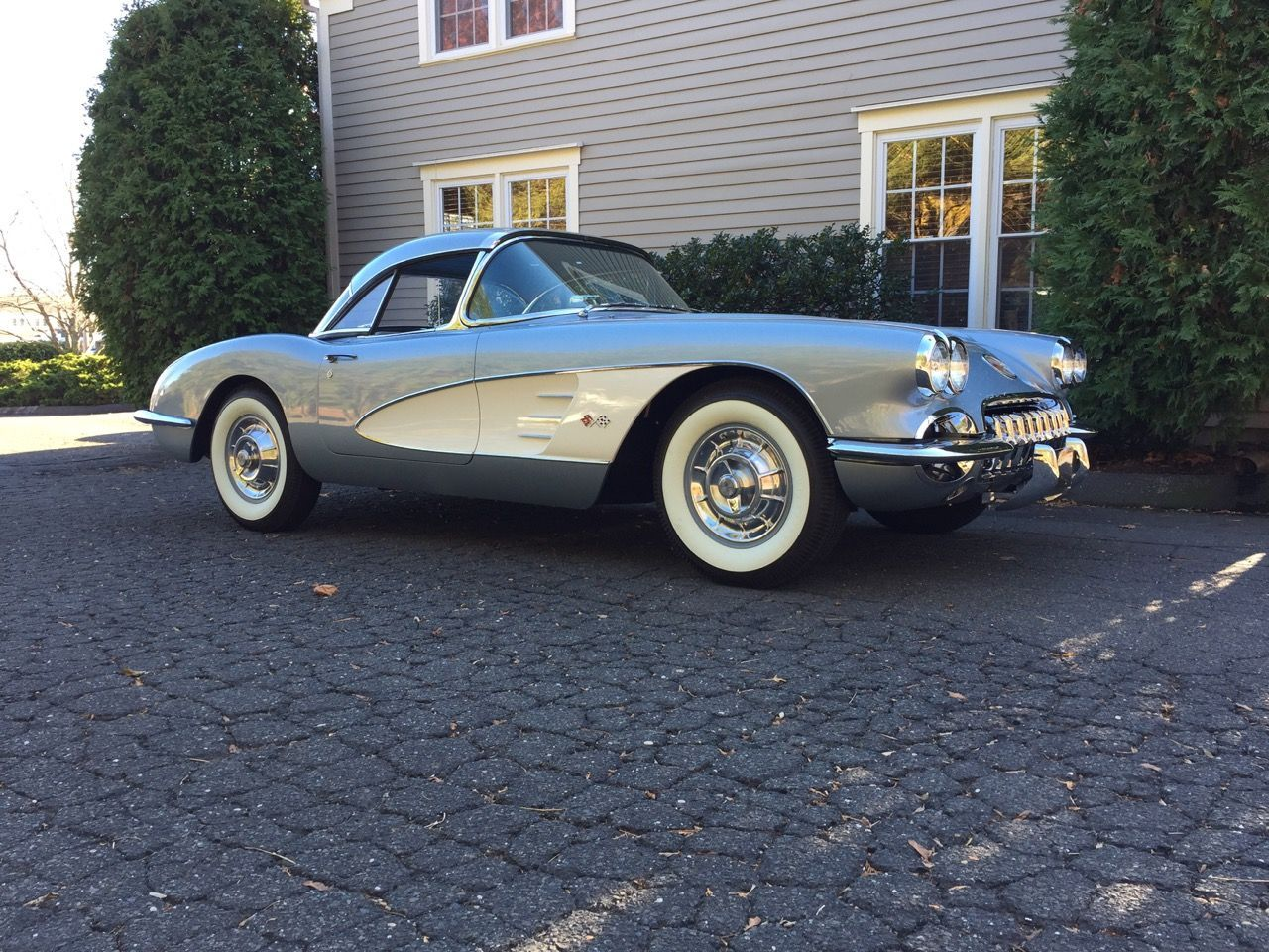 Bid for the chance to own a Dual Quad 1958 Chevrolet Corvette 4 ...