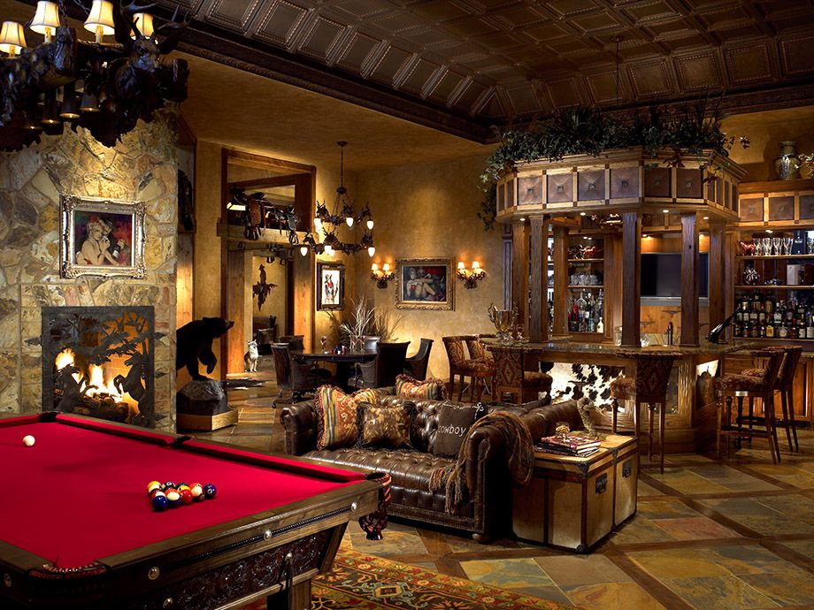 Unique Bar and Game Room Furniture