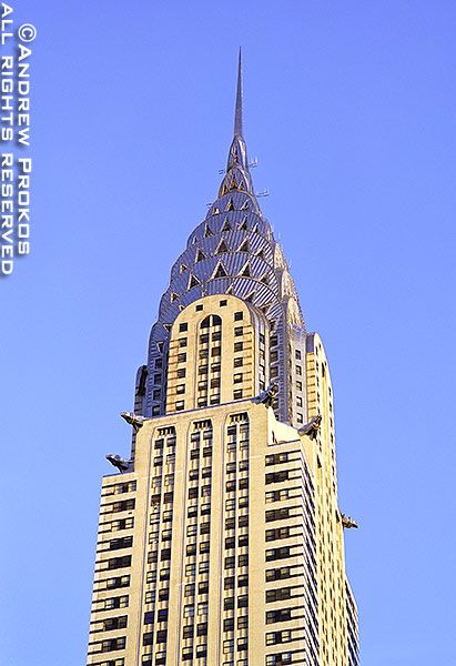 View Of The Chrysler Building Fine Art Photo Print By Andrew