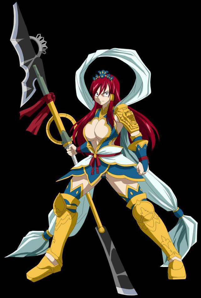 Top 10 bộ giáp đẹp và mạnh nhất của nữ hoàng tiên Erza Scarlet trong Fairy Tail