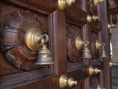 indian temple doors door knobs and wrought iron