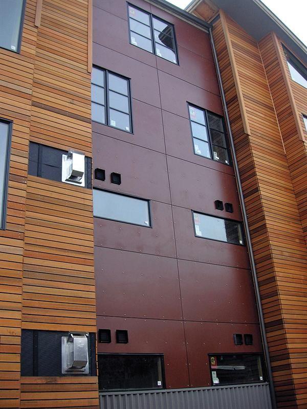 Trespa Quot Wood Quot Panels Architecture Pinterest Woods