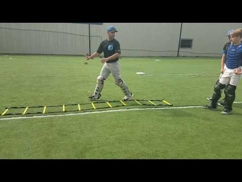 Ladder Block Drill For Baseball Catchers Youtube Baseball Catcher Baseball Drills Baseball Workouts