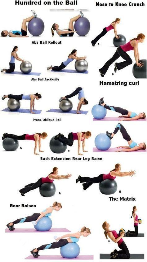 Gut schlafen - Sport und Frauen #exerciseball