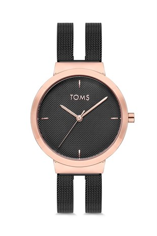 Toms Watch T81813c 936 Q Kadin Kol Saati Stilmeydani Toms Kadin Saat Siyah Kaslar