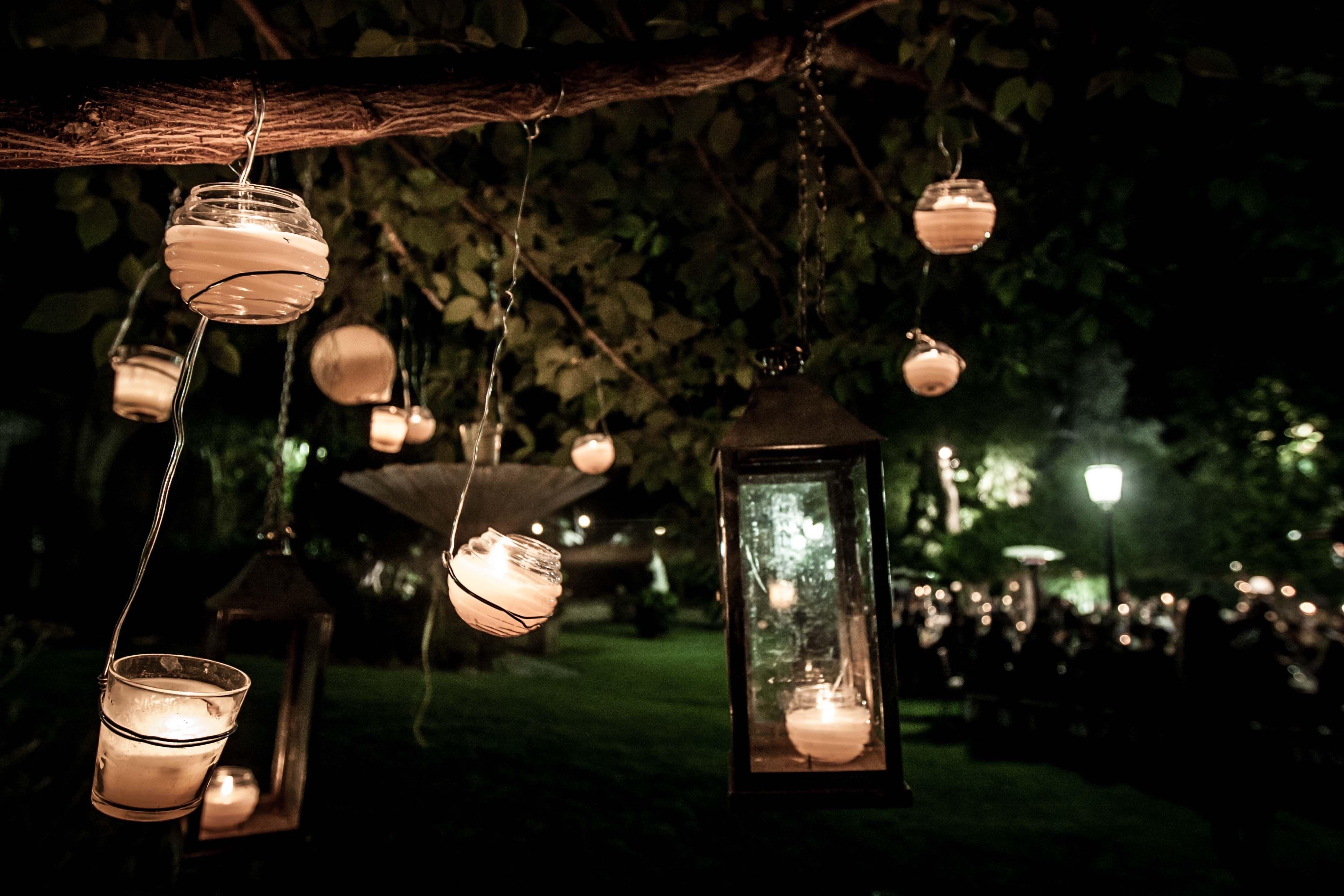 Iluminaci 243 N Para Exteriores Fiestas En Exteriores Boda