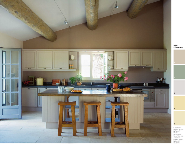 Love this kitchen and colours