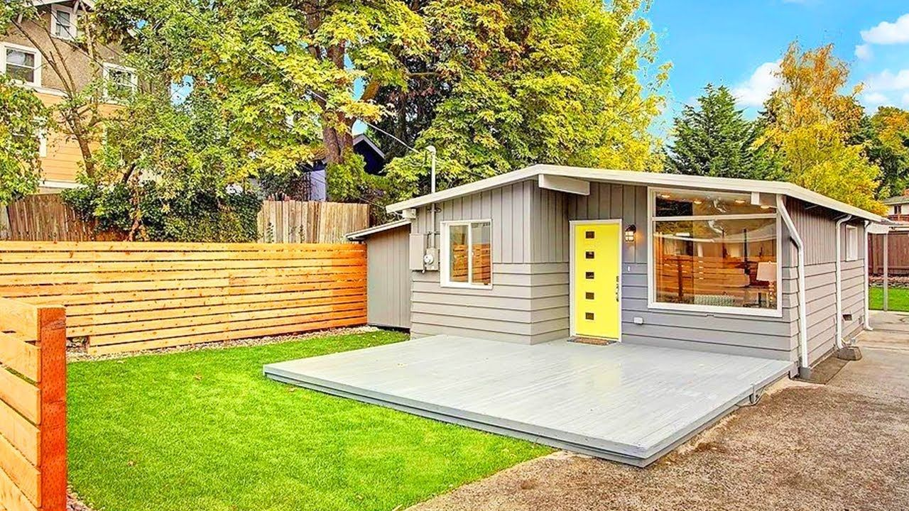 Perfect Beautiful Seattle Modern The Best Small House Design I Ve Ever Seen Casas Contenedores Casas Cabanas