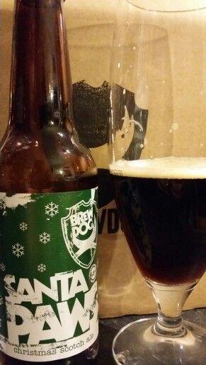 Brewdog Santa Paws Christmas Scotch Ale #craftbeer