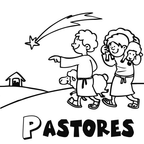 Dibujos De Los Pastores De Belen Para Colorear Colorear Coloring Pages Christmas Tree Ornaments Handcraft