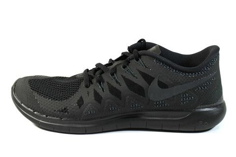 Nike Men's Free 5.0 2014 Black/Anthracite Running Shoes 642198 020 #Nike #Mens #Running #Shoes #Shopsneakerkingdom