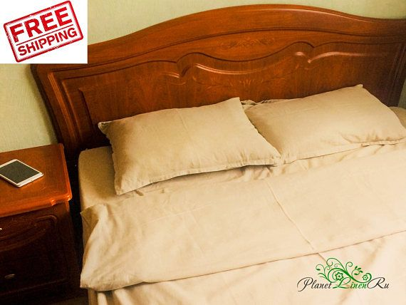 We Offer You A Magnificent Seamless Product From Natural Organic Super Wide  Clean Clo... #linen #fitted #sheet #bedding #king #queen #flax #fabric ...