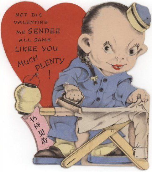 Good ole fashioned creepy RACIST card This one is horrible Id – Old Fashioned Valentine Cards