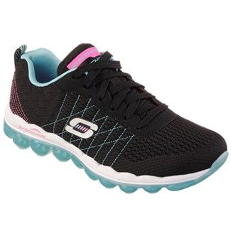 Skechers Skech-Air - Style Fix Training Shoe Black/Blue