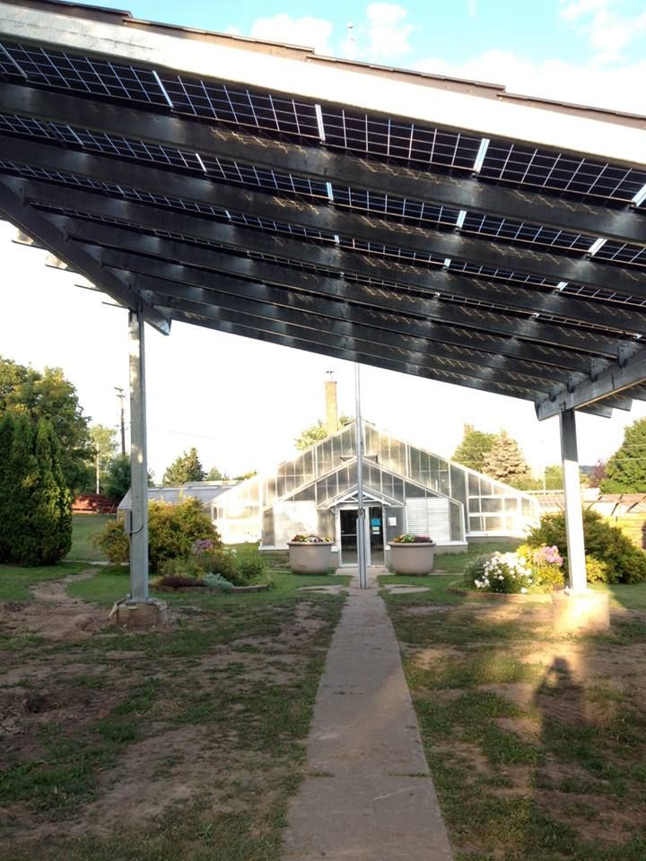 Silicon Energy Solar Shade Structure For Olcott Park In