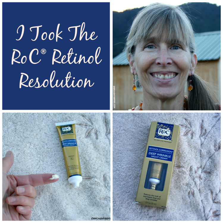 Roc Retinol Resolution How Did It Work Retinol Roc Skincare Deep Wrinkles