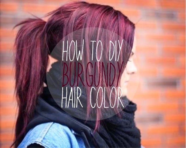 Les 25 meilleures id es de la cat gorie teinture pour cheveux rouge fonc sur pinterest blond - Comment enlever de la teinture sur les mains ...