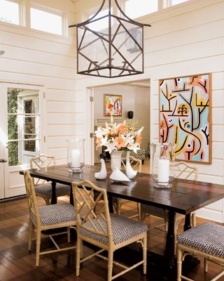 Chippendale Dining Room Beauteous Things We Love Painted Paneling  Chippendale Chairs Faux Bamboo 2018
