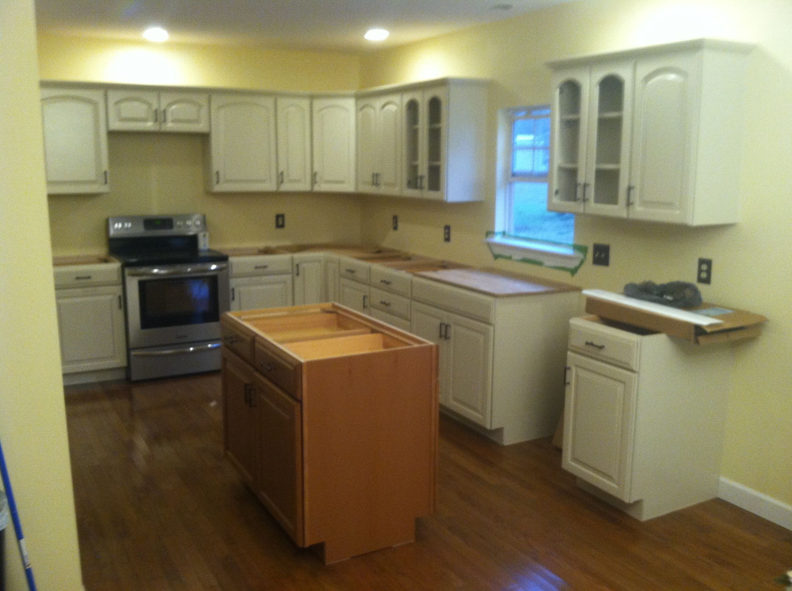 Here is a kitchen that we installed for a customer in ...