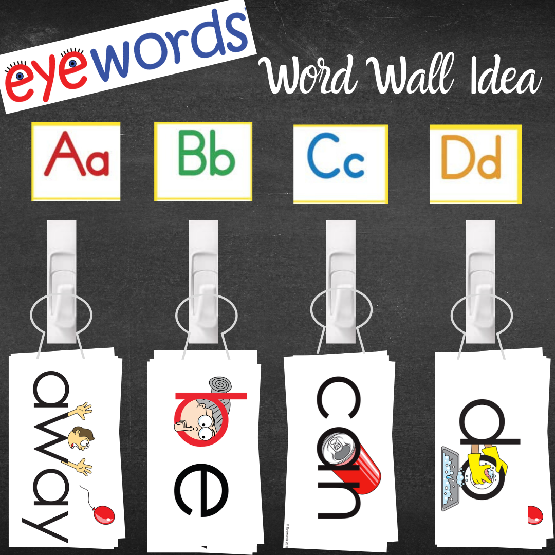 Word Wall By Alexa Amalfitano On Kids Only