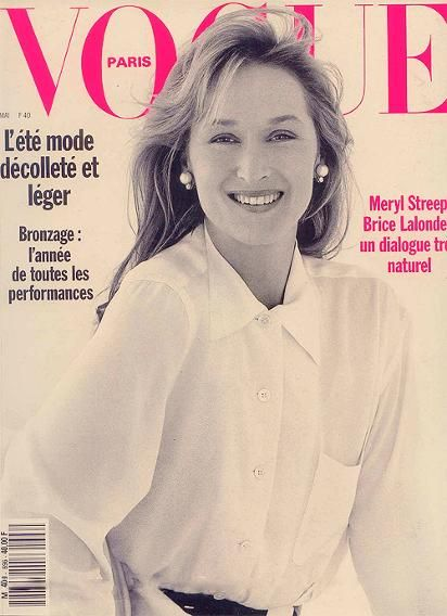 Meryl Streep in 1989