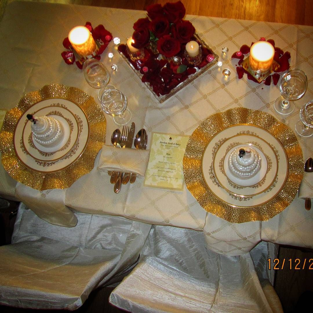 Romantic Anniversary Dinner for Two at home | Anniversary ...
