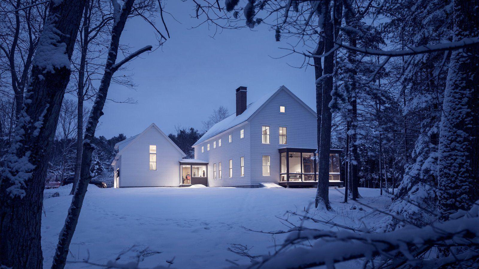 Family Farmhouse New England Farmhouse Cottage Design Maine Cottage