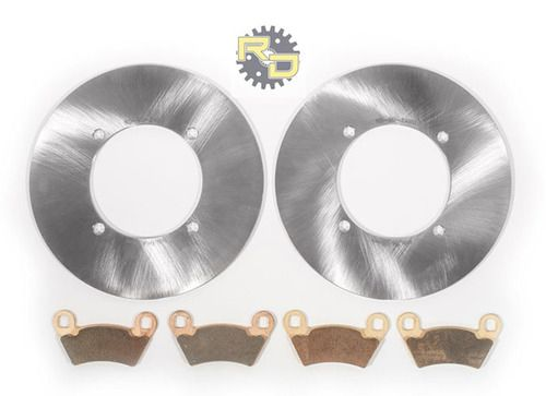 2009 Polaris Ranger 700 4X4 Front and Rear Severe Duty Brake Pads