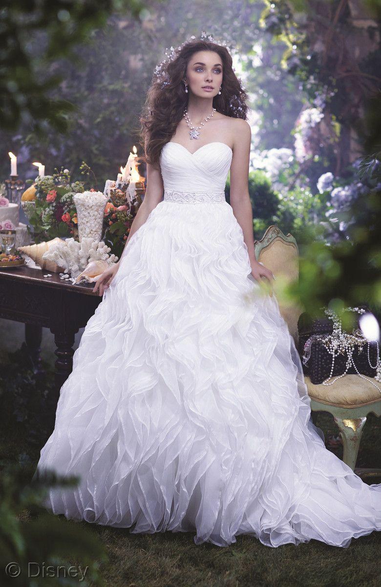 Alfred Angelos Newest Disney Bridal Gown For 2014 Ariel